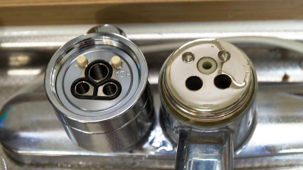 分水栓と見比べてしっかりつけよう